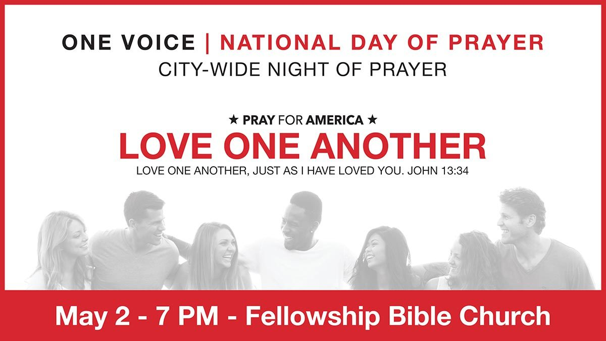 One Voice | National Day of Prayer – May 2nd, 2019