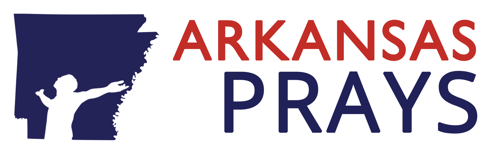 Arkansas Prays logo